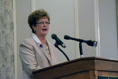 Chancellor Jacquie Moloney, keynote speaker