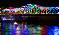 Cox Bridge Lighting 5/5/18 Photo Credit: Jen Myers