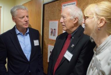 Michael Gallagher, Bill Samaras, Karen Cirillo