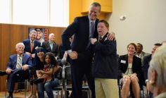 Gov. Baker and Philip Donahue