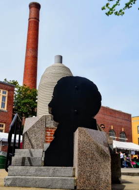 Public Art: Silhouette of Francis Cabot Lowell