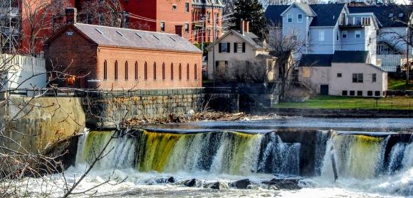 Pawtucket Falls & Gatehouse