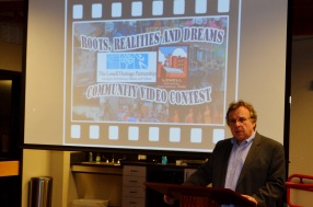 LHP & LNHP collaborate in 2013 on video contest; Paul Marion speaks