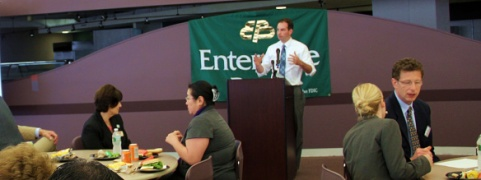 Patrick Murphy at Middlesex 3 Coalition Small Business Expo